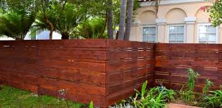 Backyard Fence Modern Fences Contemporary Exterior Los Angeles By Harwell