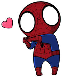 how to draw kawaii spiderman paper and pencil pinterest