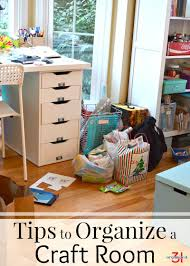 How To Organize Craft Room - tips to organize a craft room organized 31