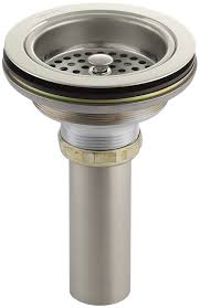 kohler k 8801 g duostrainer sink strainer brushed chrome kohler