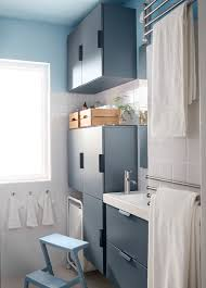 Ikea Bathroom Ideas Design A Small Bathroom With Big Storage