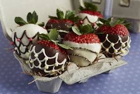 chocolate covered eggs chocolate covered easter egg strawberries i like displaying them