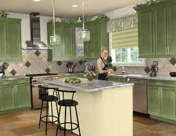 Designer Kitchens Magazine by Home Depot Plan My Kitchen Design With Green Cupboard Pictures