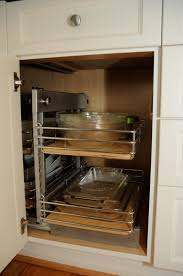 kitchen cabinet blind corner solutions corner kitchen cabinet organization ideas amys office