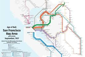 San Francisco Muni Map Trace Sf U0027s Long Defunct Train Routes In One Bart Style Map Curbed Sf