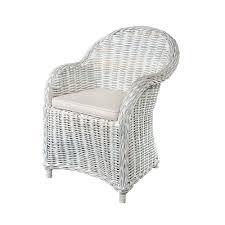 maya white wash rattan armchair bedroom chairs glasswells