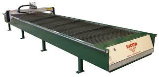 used plasma cutting table vicon 520 plasma cutting table