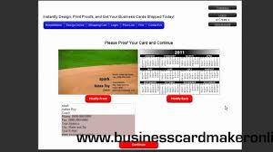 Best Business Card Creator Best Business Card Maker Youtube