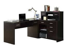 Affordable L Shaped Desk Office Desk Glass Computer Desk Corner Computer Table Cheap L