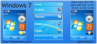 themes nokia asha 202 mobile9 windows 7 themes themereflex