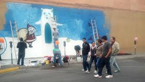 Paso A Paso by Local Artists Intend To Beautify Downtown El Paso One Alley At A Time