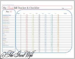 5 best images of printable bi weekly budget list bi weekly