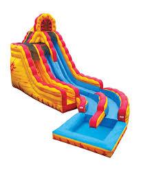 fire u0026 ice 2 story water slide ct inflatable water slide rentals