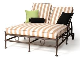 Patio Chaise Lounge Captivating Double Chaise Lounge Outdoor Awesome Outdoor Double