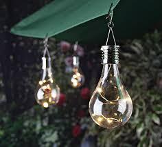 solar led umbrella lights 6 oudoor decorative solar light bulb