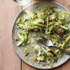 brussels sprout slaw with gold apple recipe
