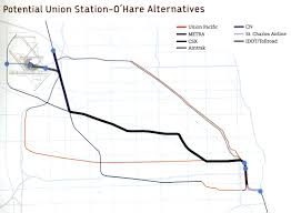 Chicago O Hare Airport Map by Crossrail Chicago Plans Unveiled Environmental Law U0026 Policy Center