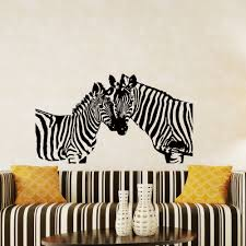 popular jungle wall murals buy cheap jungle wall murals lots from double zebras art silhouette wall murals home livingroom decorative vinyl wall stickers jungle animal serie diy