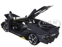 lamborghini diecast model cars lamborghini centenario grey 1 18 diecast model car maisto 31386