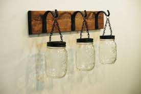 Hydrangea Bathroom Accessories by Mason Jar Wall Decor Kitchen Decor Bathroom Decor Farmhouse