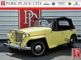 willys jeepster commando 1949 to 1951 willys jeepster for sale on classiccars com