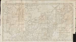 Map Of Northeastern United States by 1800 U0027s Pennsylvania Maps
