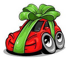 new car gift bow car gift stock vector illustration of illustration 64836687
