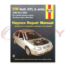 volkswagen vw golf haynes repair manual gti gl gls tdi 1 8t vr6