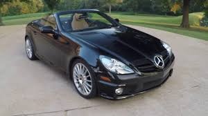 west tn obsidian black metallic 2011 mercedes slk 350 roadster