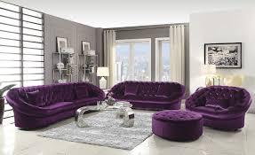 Living Room With Purple Sofa Beautiful Purple Set 33 For Your Sofas And Couches Ideas