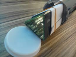 adhesives how to fix glass kaleidoscope inside cardboard tube