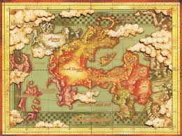 Wheel Of Time World Map by Left Justified Fantasy Map Tv Tropes