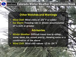 Colorado travel warnings images Colorado winter weather preparedness week PNG