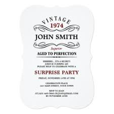 aged to perfection invitations u0026 announcements zazzle