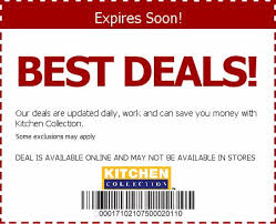 kitchen collections coupons kitchen collection free coupon coupons kitchencollection promo