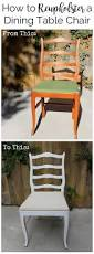 how to reupholster a dining table chair create pray love
