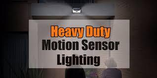 long range motion detector light 2018 best heavy duty motion sensor outdoor lighting review
