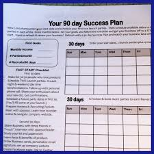 have a 90 day success system for your direct sales team