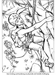 25 sports coloring pages images dover