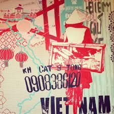 Best Vietnam Restaurant Ideas On Pinterest Graphic Design - Who designed the vietnam wall