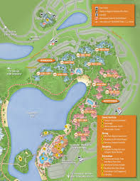 Port Orleans Riverside Map April 2017 Walt Disney World Resort Hotel Maps Photo 16 Of 33