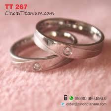 model cincin titanium model cincin tunangan yang unik tt 267