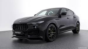 maserati levante white 2017 startech maserati levante front three quarter hd