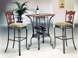pub table with wine rack 3 piece bar table set with wine rack base bar table and 2 bar