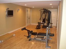 home exercise room design layout basement workout room laminate flooring home art decor 57555