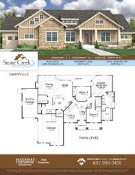 New American Home Plans by Stone Creek Estates New Home Community In Heber City