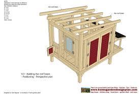 chicken coop building blueprints with basic chicken coop needs