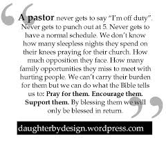 getting by on an empty stomach pastor churches and pastors