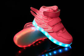 sneakers that light up on the bottom 25 37 size usb charging basket led children shoes with light up