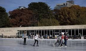 look back steinberg skating rink in forest park celebrates 60